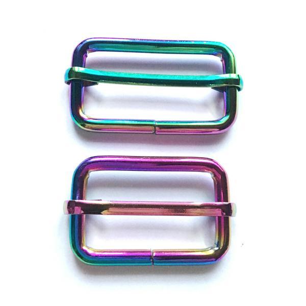 Gurtschieber/Leiterschnalle Für Gurtbänder, Farbe: Neo