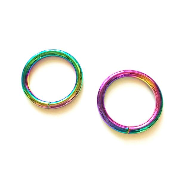 2x o ring taschenring 25mm farbe neo chrome. Black Bedroom Furniture Sets. Home Design Ideas